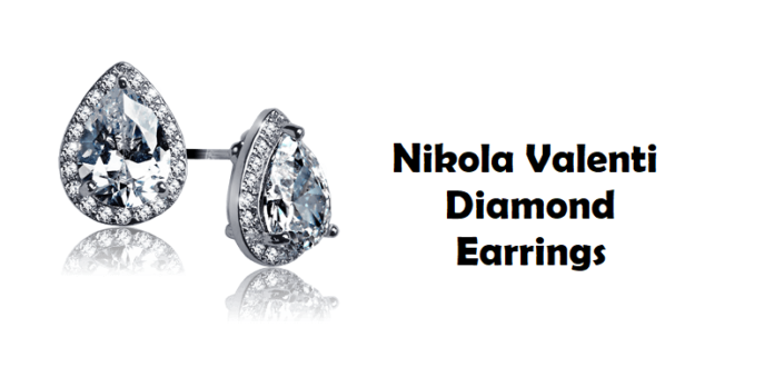 Nikola Valenti Discusses Diamond Studded Earrings