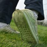 How to get grass stains out of shoes quickly